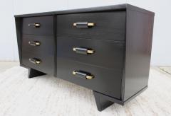 T H Robsjohn Gibbings 1950s 6 Drawer Modernist Dresser - 1555049