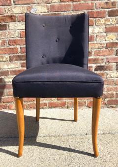 T H Robsjohn Gibbings Custom Set of Six Dining Chairs by Robsjohn Gibbings - 1533918