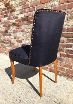 T H Robsjohn Gibbings Custom Set of Six Dining Chairs by Robsjohn Gibbings - 1533920