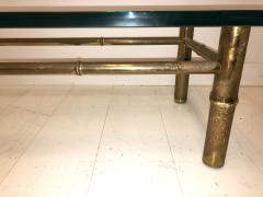 T H Robsjohn Gibbings Custom T H Robsjohn Gibbings Brass Coffee Table for Kandell Residence - 1878826