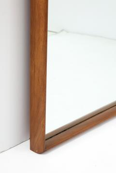 T H Robsjohn Gibbings Large Walnut Framed Robsjohn Gibbings for Widdicomb Mirror - 1928481