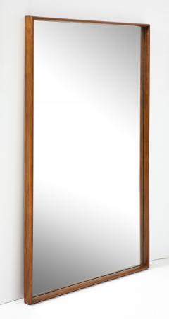 T H Robsjohn Gibbings Large Walnut Framed Robsjohn Gibbings for Widdicomb Mirror - 1928482