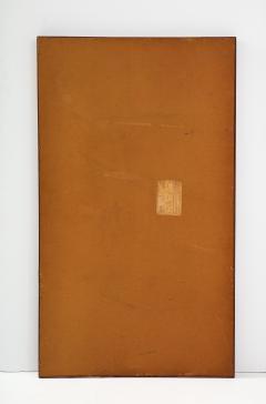 T H Robsjohn Gibbings Large Walnut Framed Robsjohn Gibbings for Widdicomb Mirror - 1928488