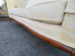 T H Robsjohn Gibbings Lovely Robsjohn Gibbings Walnut Sofa - 1684914
