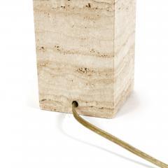 T H Robsjohn Gibbings MARBLE TABLE LAMP - 1646002