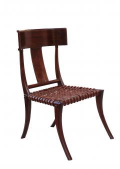 T H Robsjohn Gibbings Pair of Klismos Accent Side Chairs In The Manner of T H Robsjohn Gibbings - 2123632