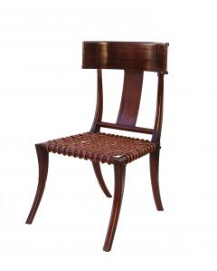 T H Robsjohn Gibbings Pair of Klismos Accent Side Chairs In The Manner of T H Robsjohn Gibbings - 2123633