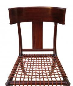 T H Robsjohn Gibbings Pair of Klismos Accent Side Chairs In The Manner of T H Robsjohn Gibbings - 2123638