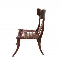 T H Robsjohn Gibbings Pair of Klismos Accent Side Chairs In The Manner of T H Robsjohn Gibbings - 2123639