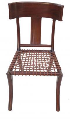 T H Robsjohn Gibbings Pair of Klismos Accent Side Chairs In The Manner of T H Robsjohn Gibbings - 2123642