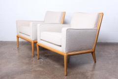 T H Robsjohn Gibbings Pair of Lounge Chairs by T H Robsjohn Gibbings - 2127905