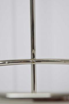 T H Robsjohn Gibbings Pair of Tripod Nickel Floor Lamps by T H Robsjohn Gibbings for Hansen - 1124871