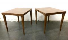 T H Robsjohn Gibbings Rare Pair Robsjohn Gibbings Side Tables - 2168411