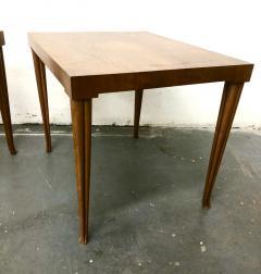 T H Robsjohn Gibbings Rare Pair Robsjohn Gibbings Side Tables - 2168413