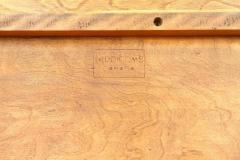 T H Robsjohn Gibbings Rare and Unusual Surfboard Walnut Coffee Table by T H Robsjohn Gibbings - 342944