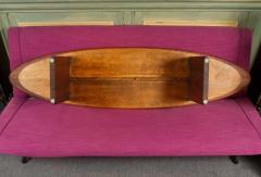 T H Robsjohn Gibbings Rare and Unusual Surfboard Walnut Coffee Table by T H Robsjohn Gibbings - 342945