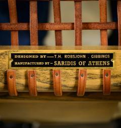 T H Robsjohn Gibbings Robsjohn Gibbings Pair of Klismos Chairs - 445464