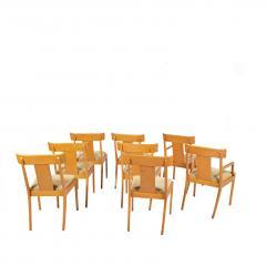 T H Robsjohn Gibbings Set of Eight T H Robsjohn Gibbings dining chairs for Widdicomb - 1716916
