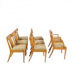 T H Robsjohn Gibbings Set of Eight T H Robsjohn Gibbings dining chairs for Widdicomb - 1716918