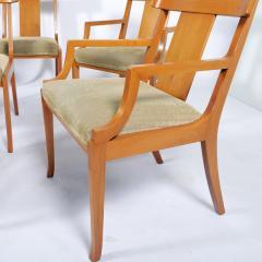 T H Robsjohn Gibbings Set of Eight T H Robsjohn Gibbings dining chairs for Widdicomb - 1716919