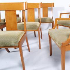 T H Robsjohn Gibbings Set of Eight T H Robsjohn Gibbings dining chairs for Widdicomb - 1716920