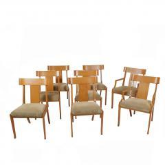 T H Robsjohn Gibbings Set of Eight T H Robsjohn Gibbings dining chairs for Widdicomb - 1716921
