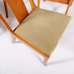 T H Robsjohn Gibbings Set of Eight T H Robsjohn Gibbings dining chairs for Widdicomb - 1716922