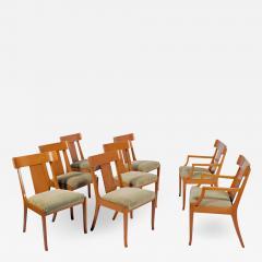 T H Robsjohn Gibbings Set of Eight T H Robsjohn Gibbings dining chairs for Widdicomb - 1719459