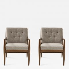 T H Robsjohn Gibbings T H Robsjohn Gibbings Club Chairs - 1267640