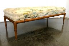 T H Robsjohn Gibbings T H Robsjohn Gibbings Custom Walnut Bench for the Kandell Residence - 1534657