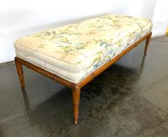 T H Robsjohn Gibbings T H Robsjohn Gibbings Custom Walnut Bench for the Kandell Residence - 1534660