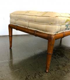 T H Robsjohn Gibbings T H Robsjohn Gibbings Custom Walnut Bench for the Kandell Residence - 1534662