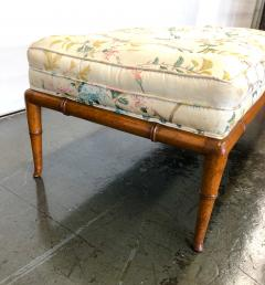 T H Robsjohn Gibbings T H Robsjohn Gibbings Custom Walnut Bench for the Kandell Residence - 1534663