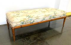 T H Robsjohn Gibbings T H Robsjohn Gibbings Custom Walnut Bench for the Kandell Residence - 1534664