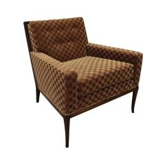 T H Robsjohn Gibbings T H Robsjohn Gibbings Elegant Pair of Club Chairs 1950s - 1237584