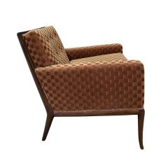 T H Robsjohn Gibbings T H Robsjohn Gibbings Elegant Pair of Club Chairs 1950s - 1237586
