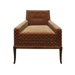 T H Robsjohn Gibbings T H Robsjohn Gibbings Elegant Pair of Club Chairs 1950s - 1237587