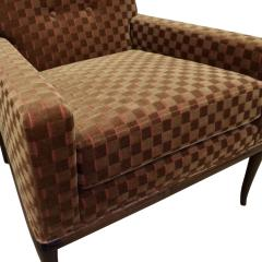 T H Robsjohn Gibbings T H Robsjohn Gibbings Elegant Pair of Club Chairs 1950s - 1237588