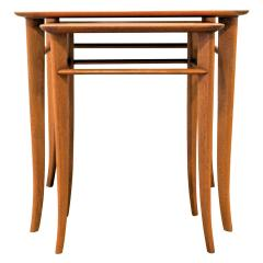 T H Robsjohn Gibbings T H Robsjohn Gibbings Pair of Nesting Tables 1950s - 331508