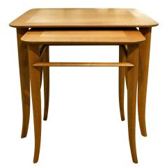 T H Robsjohn Gibbings T H Robsjohn Gibbings Pair of Nesting Tables 1950s - 331510