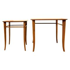 T H Robsjohn Gibbings T H Robsjohn Gibbings Pair of Nesting Tables 1950s - 331512