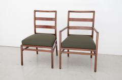 T H Robsjohn Gibbings T H Robsjohn Gibbings Set of 6 Mid Century Modern Dining Chairs Model 1685 - 1105404