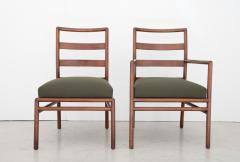T H Robsjohn Gibbings T H Robsjohn Gibbings Set of 6 Mid Century Modern Dining Chairs Model 1685 - 1105405