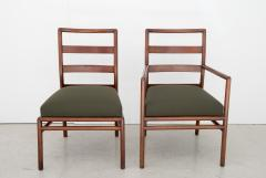T H Robsjohn Gibbings T H Robsjohn Gibbings Set of 6 Mid Century Modern Dining Chairs Model 1685 - 1105406