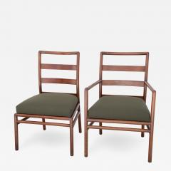 T H Robsjohn Gibbings T H Robsjohn Gibbings Set of 6 Mid Century Modern Dining Chairs Model 1685 - 1106871