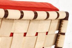 T H Robsjohn Gibbings T H Robsjohn Gibbings Widdicomb Strap Lounge Chair - 1793693
