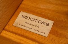 T H Robsjohn Gibbings TH Robsjohn Gibbings Chest of Drawers in Walnut with Cane Handles - 1816786