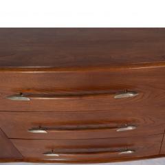 T H Robsjohn Gibbings Walnut Buffet By Robsjohn Gibbings For Widdicomb Model 4003 - 1937143