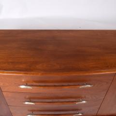 T H Robsjohn Gibbings Walnut Buffet By Robsjohn Gibbings For Widdicomb Model 4003 - 1937146