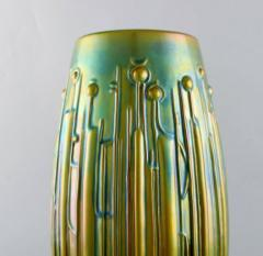T r k J nos Large modernist vase in glazed ceramics - 1421515